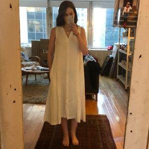 Steven Alan linen dress